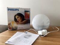 Philips Wake-Up Light Alarm Clock HF3520/01 Coloured Sunrise Simulation - Great Condition