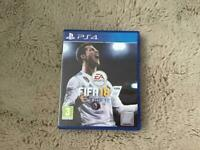 Fifa 18 PS4 game