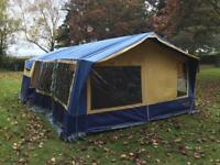 sunncamp holiday 500 trailer tent awning