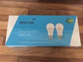 British Gas Hive Smart Lights Starter Pack - Brand New And Sealed
