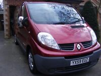 2009 Renault Traffic Camper Van