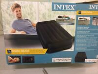 Inflatable single air bed