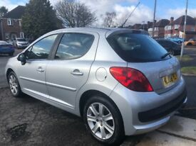 2008 PEUGEOT 207 1.6 HDI DIESEL+ FULL SERVICE HISTORY + £30 ROAD TAX FOR A FULL YEAR