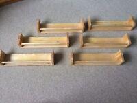 6 IKEA Bekvam Spice Racks - excellent condition