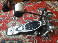Pearl p2000c single bass drum pedal