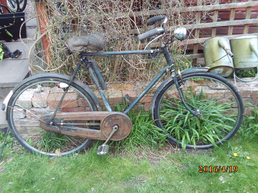 Vintage Raleigh All Steel Bicycle One Of Many Quality