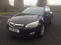 2011 Vauxhall Astra 1.4 Exclusive 5 Door Hatchback 1 Owner £0 Road Tax Ready To Go Superb Drive PX