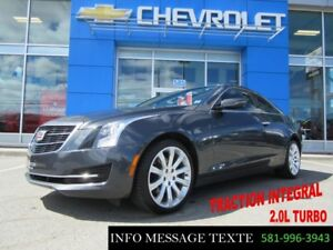 2015 CADILLAC ATS COUPE AWD 2 PORTES, TRACTION INTEGRAL