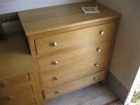 MODERN WELL MADE, STURDY & STRONG CHEST OF DRAWERS. (3 IN TOTAL FOR SALE,SOLD EACH).VIEW/DELIVERY