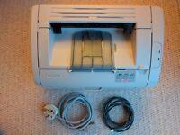 HP 1018 Laserjet - Excellent condition