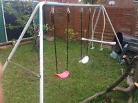 Used swings some rust