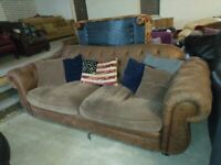 Sofology Chesterfield type Sofa Settee Deliv Poss