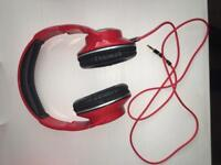 Beats headphones red