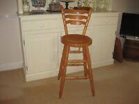 bar stool / childs high chair