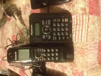 Panasonic cordless phone answering machine