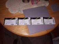 James Arthur seated Tickets Wembley