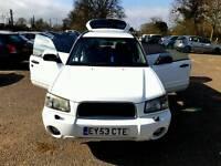2004 Subaru Forester 4/4 V fast car yesr fresh mot drives superb £1850 cheapest in uk