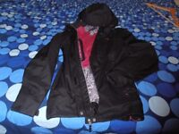 NEW - Decathlon Raincoat jacket black