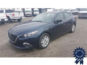 2016 Mazda Mazda3 GS Front Wheel Drive - 38,631 KMs, Seats 5