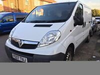 2007 Vauxhall VIVARO DI SWB. BRILLIANT DRIVE. LOW MILEAGE.ROOF RACK. ONE OWNER.FULL SERVICE HISTORY.