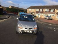 Chevrolet Matiz 1.0 SE 5 Doors Silver low millage only 47000 miles in good drive