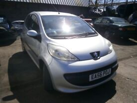 2006 PEUGEOT 107 URBAN 1.0 BREAKING FOR PARTS