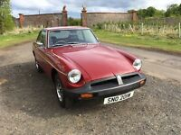 PRICE REDUCED Red MG BGT ready to go