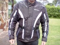 PRICE DROP Textile motorcycle jacket - size large
