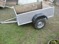 Sturdy Car Trailer new tyres new mudguards tows well