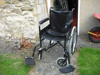 self proppeld wheelchair