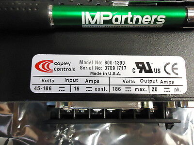 Copley Controls 800-1390 7225dc Amplifier For Brushless Servo. Brand New
