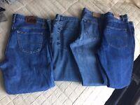 large bundle of mens clothing
