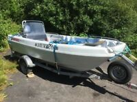 PIONER MULTI BOAT, C/W YAHAHA F 60 CETL , VERY LOW HRS, 2011 YR , FANTASTIC STABLE BOAT , TRAILER