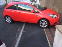 2015 '65' Vauxhall Corsa 1.2 Energy in Red