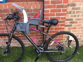 Wee ride safe front child bike seat