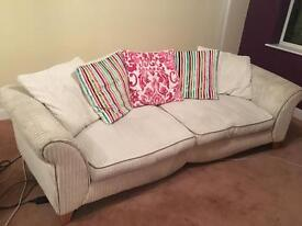 DFS sofa and chair for sale