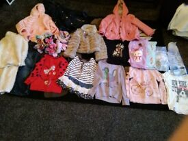 Girls clothing bundle 4-5&5-6yrs mostly next collect ml5