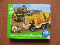 Construction Site Building Bricks BNIB (ELC version of lego)
