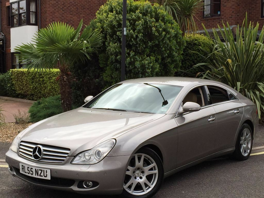 2006 mercedes cls320 cdi auto tip sat nav dvd full beige nappa leather cls full spec in ealing. Black Bedroom Furniture Sets. Home Design Ideas