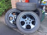 For sale good wheels rims & tyres