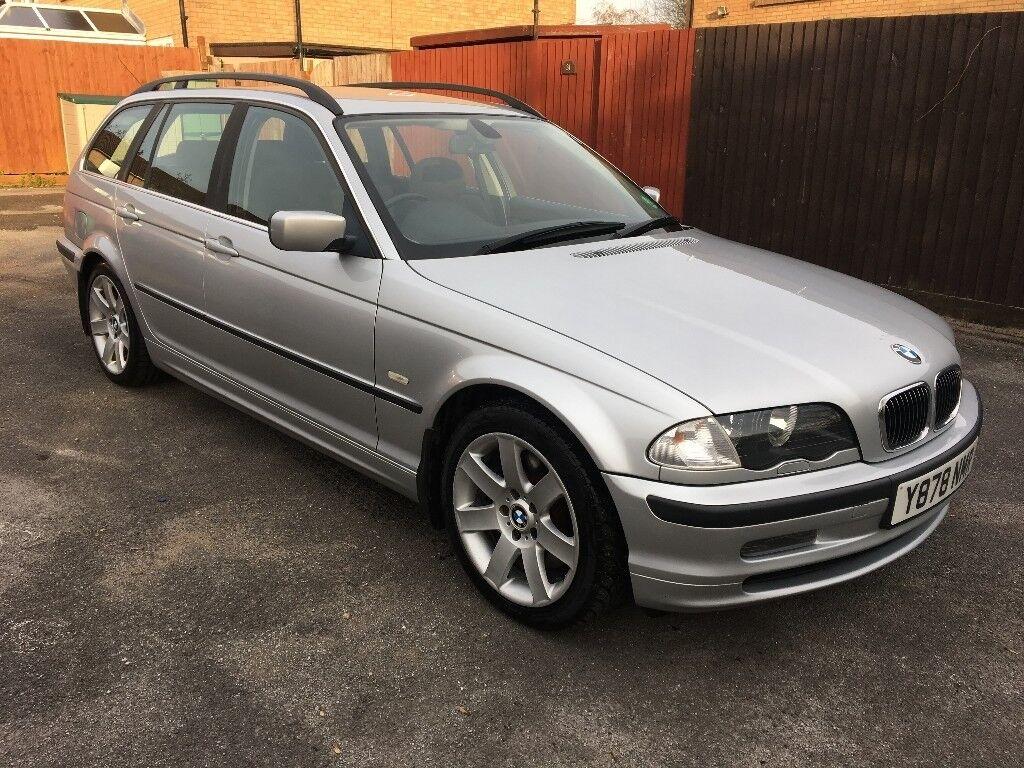BMW 330d SE Touring 2.9 DIESEL 5 Spd Manual, 01/Y Reg, MOT 18th July 2018, Full S/Hist, 5 Dr, Silver
