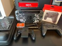 Limited Edition Unpached Nintendo Switch + extras