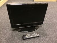 """ALBA CFD1671A 16"""" HD Ready Digital LCD TV DVD Combi Television with Remote"""