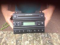 Freelander mk1 stereo