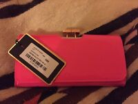 Bright Pink Ted Baker Purse