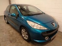 PEUGEOT 207 , 2006/56 REG , ONLY 58000 MILES + HISTORY , YEARS MOT , FINANCE AVAILABLE , WARRANTY