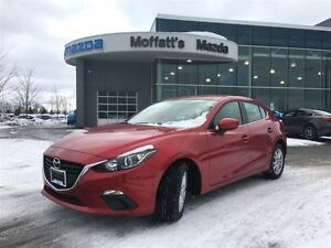 2015 Mazda MAZDA3 SPORT GS SPORT, LEATHER, HEATED SEATS, BACK UP
