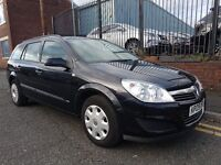 2009 Vauxhall Astra 1.8 i 16v Life 5dr Estate, Warranty & Breakdown Cover Available, £1,895