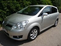 2007 Toyota Corolla Verso 2.2 D-4D SR 5dr MPV 7 SEATER CHEAP USED CARS LEICESTER