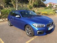 BMW M140i 5 Door Auto, Estoril Blue, Harman Kardon, Comfort Pack